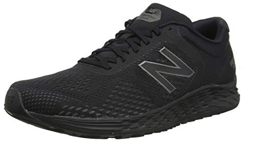New Balance Men's Arishi V2 Fresh Foam Running Shoe, Black/Black, 12 D US