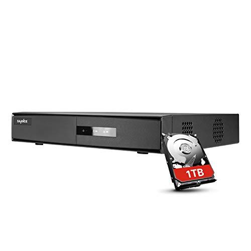 Grabadora DVR de 4 canales con disco duro de 1 TB