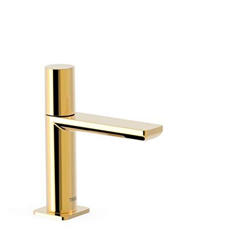 Grifo lavabo Loft Colors 1 agua o premezclada, maneta, 15,4 x 4,8 x 16,6 centímetros, color oro (Referencia: 20050301OR)