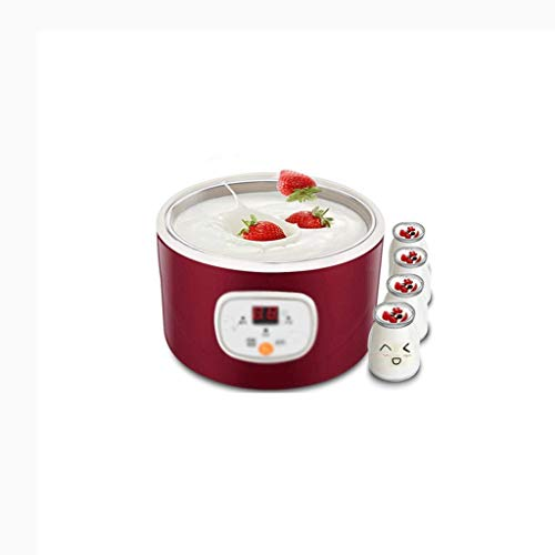 LINQ Machine with 4 Pots Digital Display Timer Function Make Fresh Homemade Bio-Active Yoghurt in Your Own Kitchen