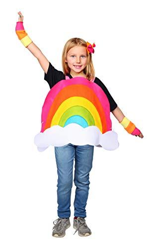Dress Up America Rainbow Costume - Cute, Fun, Rainbow Costume for Kids (Medium 8-10/Large)