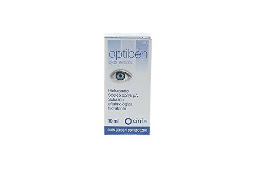 Cinfa - Optiben - Solución oftalmológica hidratante - 10 ml