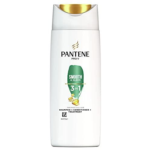Pantene Pro-V Lisci Effetto Seta 3 In 1 Shampoo+Balsamo+Trattamento, Morbidezza Effetto Seta E Controllo Del Crespo, 90 ml