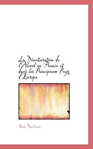 La Denaturation de LAlcool En France Et Dans Les Principaux Pays DEurope