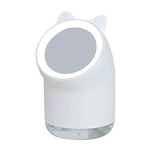 HKJZ SFLRW Umidificatore Caldo della Nebbia, Camere da Sole a Medie, 400 ml  con luci a LED Mish Mish Mist Humidificatore per camere per Bambini, camere da Letto e Altro