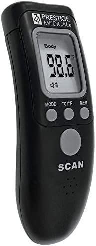 Prestige Max Baltimore Mall 69% OFF Medical Infrared Forehead Thermometer Black