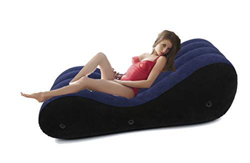 Inflatable Ŝëx Sofa Couches Powerful Bedding Air Mattresses for Cőúplěs Lóvé Position Flocking Bed PVC+Rubber+Nylon