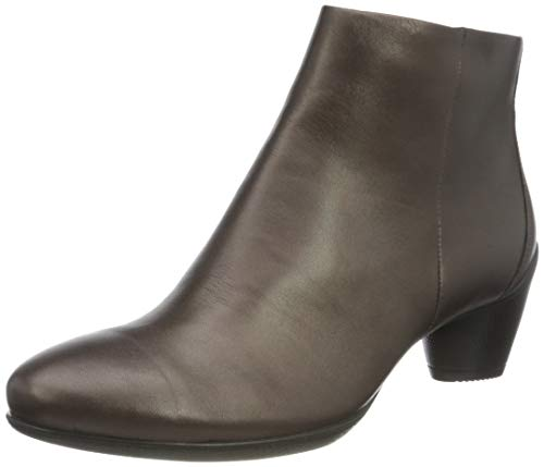 ECCO Damen Sculptured 45 Ankle Boot, Metallic (SHALE METALLIC), 38 EU