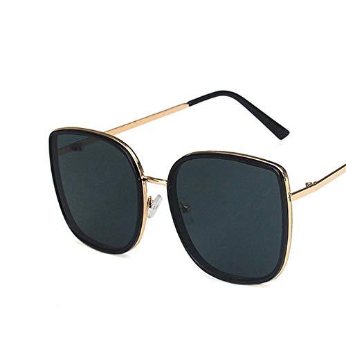 chuanglanja Gafas De Sol Vintage Gafas De Sol Ojo De Gato Gafas De Mujer Mujer/Hombre Gafas Vintage Mujer/Hombre Espejo-Color-P