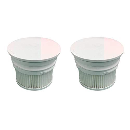 ZHIXIANG Kit de Piezas de Pincel de Rodillo de Filtro HEPA FIT para XIAOMI MIJIA 1C Handheld inalámbrico inalámbrico aspiradora Accesorios (Color : White)