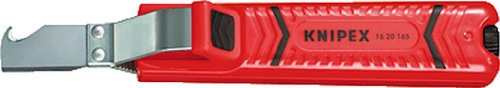 Knipex Cable Cuchillo con cuchilla de gancho/1620165sb 165mm para cable ø8–28mm