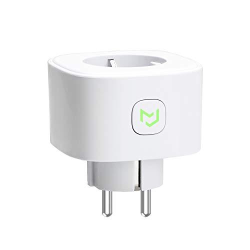 meross Smart WLAN Steckdose, Alexa Steckdose 16A Intelligent WiFi Plug 2.4Ghz kompatibel mit Alexa, Google Home und SmartThings, 3680W Stecker mit App Fernsteuerung, Kein Hub erforderlich