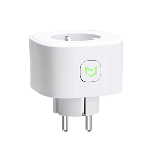Meross Intelligente Steckdose WLAN Socket, 16A, 3680W, Timer-Funktion, kompatibel mit Alexa, Google Assistant, SmartThings, Android und iOS