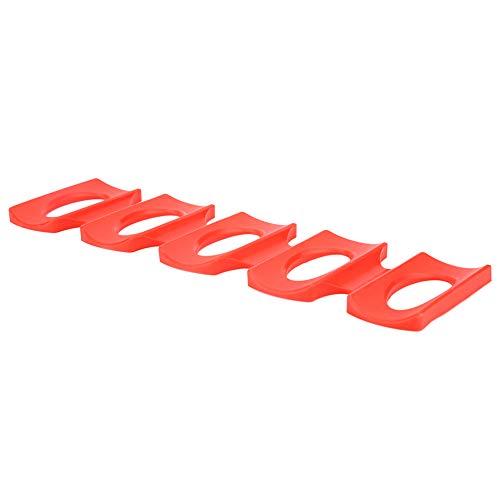 Changor Alfombrilla para nevera, plegable, portátil, ligera, de -40 ° C a+230 ° C de silicona, hecha para un fácil almacenamiento.