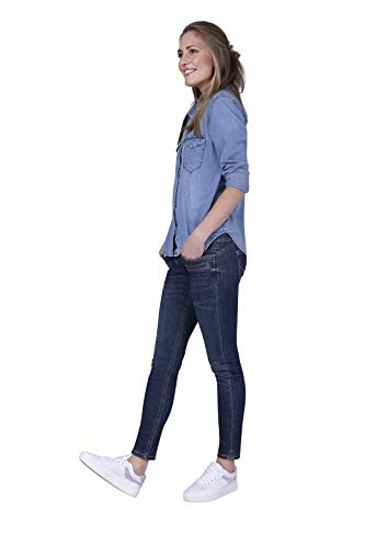 Blue Fire Co Alicia 023 - Skinny, Stone Washed 32/28 - Damen