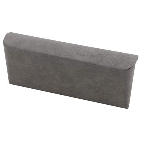 Huaicheng - Bolsa de almacenamiento portátil para gafas de sol, color gris
