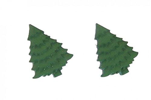 pendientes de abeto Miniblings Tannenbaum pendientes arbol de navidad verde - hechos a mano pendientes de joyería de moda pendientes conecto