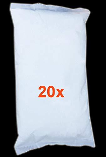 VABIONO Luftentfeuchter Granulat Nachfüller 1 kg im Vliesbeutel für Raumentfeuchter (20 x 1kg)