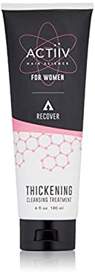 ACTIIV Recover Thickening Cleansing Hair Loss Shampoo Treatment for Women, 6 Fl Oz