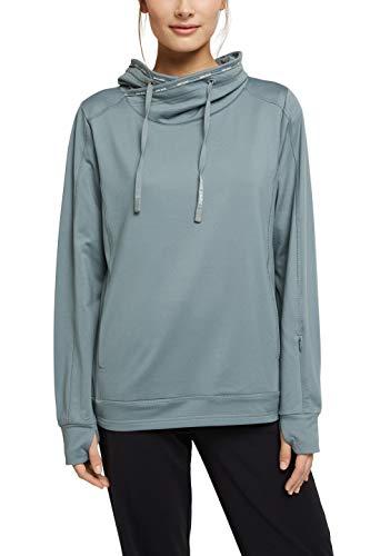 ESPRIT Sports Sweatshirt Edry Sudadera, 335/Dusty Green, XL Mujer