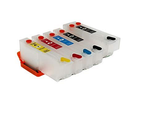 YJTT Colorsun Recargables T3351 33XL Cartuchos de Tinta Aptos for el XP-530 XP-630 XP-830 XP-635 XP-540 XP-640 XP-645 XP-900 Impresora T33XL cartrige