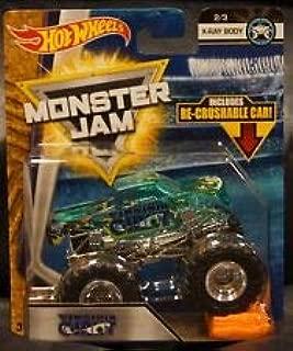 Virginia Giant X-Ray Body Jam Diecast Recrushable Car