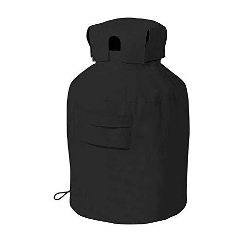 Magent Schutzhülle für 9 kg Gasflasche, Abdeckhaube Abdeckplane 420D Oxford Wasserdicht Gasflaschenschutzhülle Schwerlast Wetterfest für Außenbereich BBQ