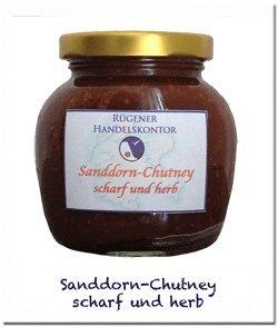 Sanddorn-Chutney scharf und fruchtig
