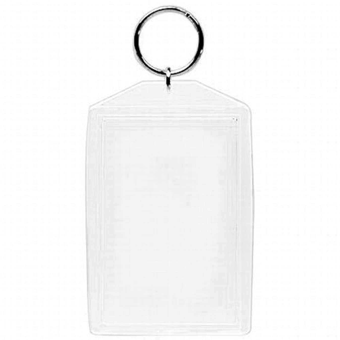 Acrylic Photo Snap-in Key Chain-2x3 (Pack of 25)