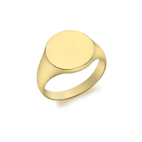 Carissima Gold Anillo soberano con oro amarillo