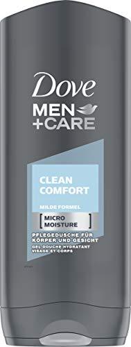 Dove Men+Care Duschgel für erfrischende Reinigung Clean Comfort milde Formel, 6er Pack (6 x 250 ml)
