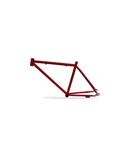 Riscko 001m Cuadro Bicicleta Personalizada Fixie Talla M Rojo