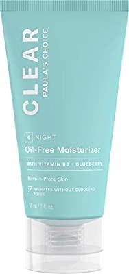 Paula's Choice Clear Oil Free Moisturiser - Fights Breakouts, Blackheads & Hydrates without Clogging Pores - with Niacinamide & Ceramides - Combination to Oily & Acne Prone Skin - 60 ml from Paulas Choice Llc