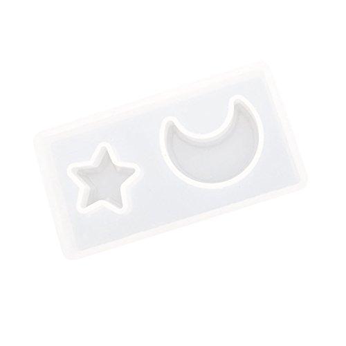 Molde de silicona traslúcido, forma de cubitos de hielo, forma de jabón.