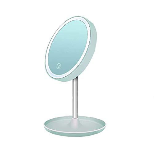 XYSQWZ Espejo De Maquillaje Espejo De Tocador Led Luz Led - Espejo...