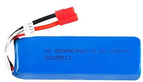 Grehod X16 x21 RC Repuestos 803496 11,1 V 2200 mAh 25c Batería para cámara RC Drone Accesorios 3s Batería Lipo