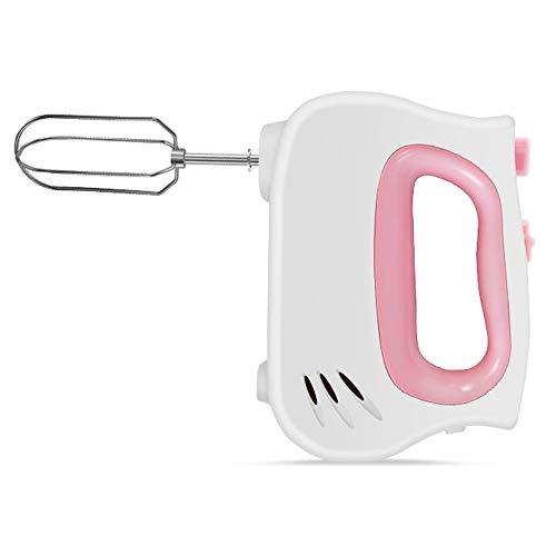 WHOJA Stick Blender Contrôle de 5 vitesses Mélangeur alimentaire Robot multifonctionnel Outils de cuisine pour la cuisson de la crème glacée de gâteau de cuisson Mousseur à lait à la crème