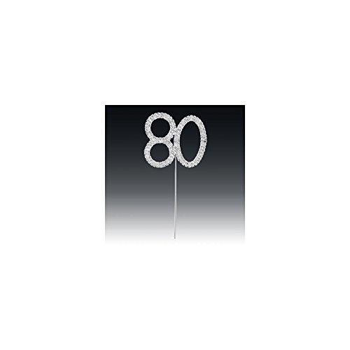Club Green Diamant 80. auf Silber Vorbau, Silber, 4,5x 5,5cm