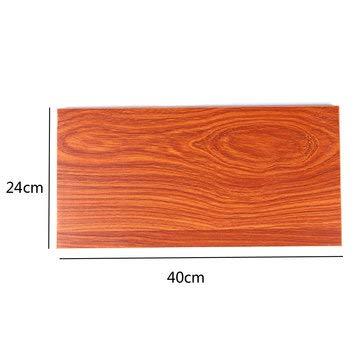 DyNamic 24cm breed grenen hout ecologisch bord blad voor wand opknoping plank woonkamer boek opslag - 40cm