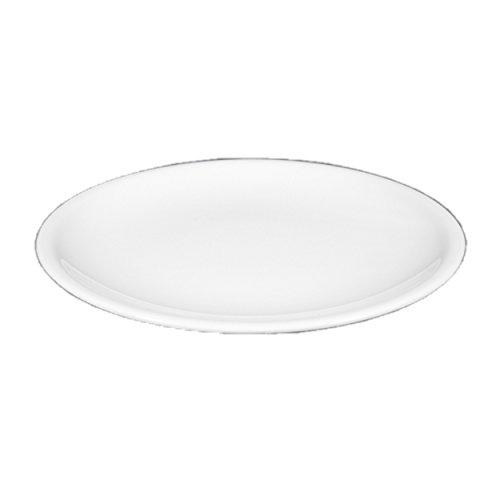 Seltmann 001.449573 Compact Porzellan Speiseteller, Rund, Weiß, 27cm Durchmesser, 2,7cm Höhe, 6 Stück