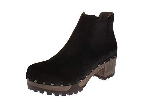 Softclox S3358 Isabelle Kaschmir - Damen Schuhe Stiefel - 06-schwarz, Größe:38 EU