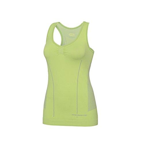 prosske Femme Fitness Sport Débardeur dstt1 respirant Medium Vert - Vert