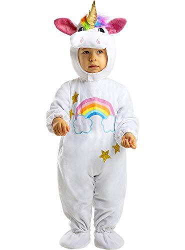 Funidelia | Einhorn Kostüms für Baby Größe 6-12 Monate  Lustige & Ausgefallene - Bunt