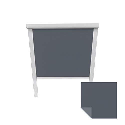 Victoria M. Verdunkelungsrollo passend für Velux-Dachfenster MK06 6007 dunkelblau