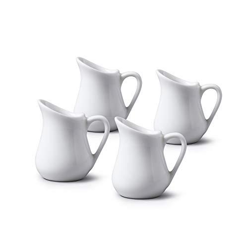 Wm Bartleet & Sons - Juego de 4 jarras de crema tradicional...