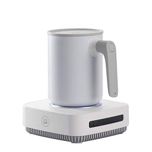 movement Konstanttemperatur Untersetzer 12V 2 In 1 Tasse Wärmer Kühler Schnellkühlende Heizbecher Samrt Thermostatbecher Getränkeplatte