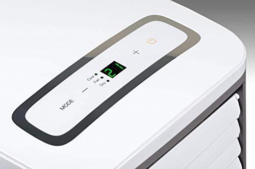 Climia CMK 2600 climatiseur mobile, refroidisseur d'air 3-en-1 – ventilateur, climatisation et...