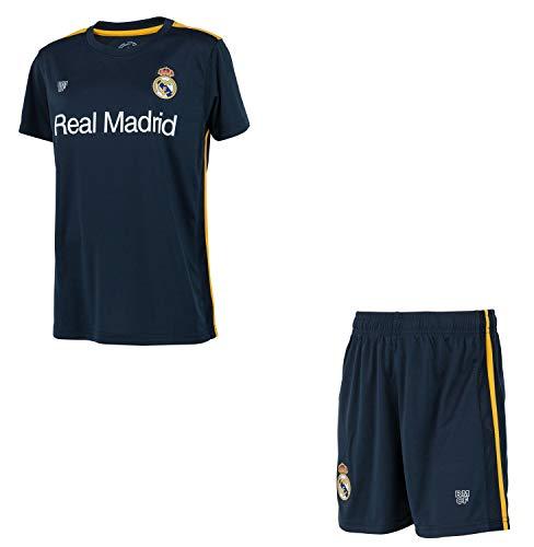 Real Madrid Conjunto Camiseta + Pantalones Cortos Colección Oficial - Niño - Talla 10 años