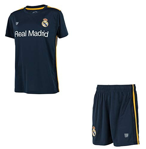 Real Madrid Minikit Trikot + Shorts Offizielle Sammlung - Kind - Größe 6 Jahre