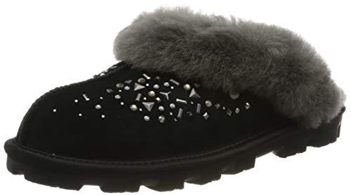 UGG Damen W Coquette Galaxy Pantoffeln, Schwarz (Black Blk), 39 EU